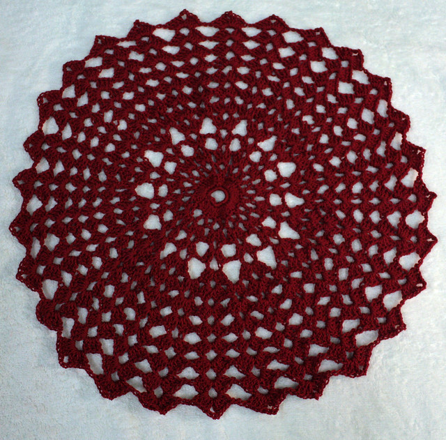 Tidings of Joy Christmas Doily Crochet Pattern PDF by BellaCrochet