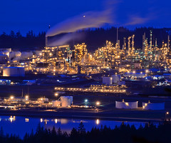 anacortes oil refinery 6222 - Explored photo by Light of the Moon Photography