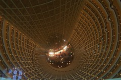 Grand Hyatt Lobby in Jin Mao Tower