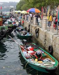 Sai Kung fish market