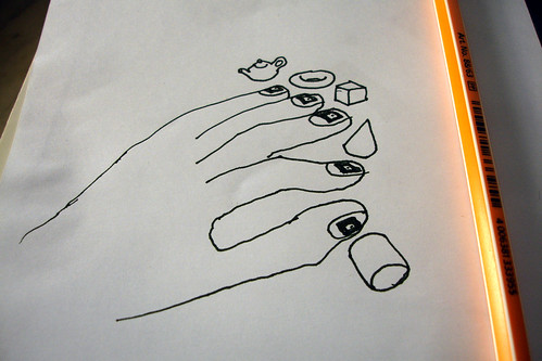 AR nail decorations