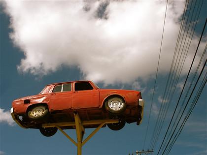 Auto rojo (lo que nunca soñó Vilma Palma)