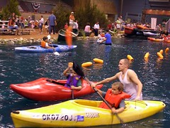 Kayak Into at OKC Wildlife Expo 2005
