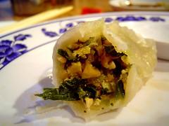 vegetable dumpling innards