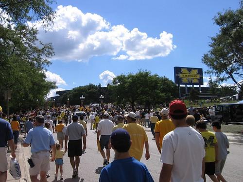 Stadium gates