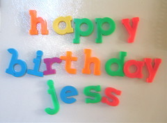 happy bday jessamyn