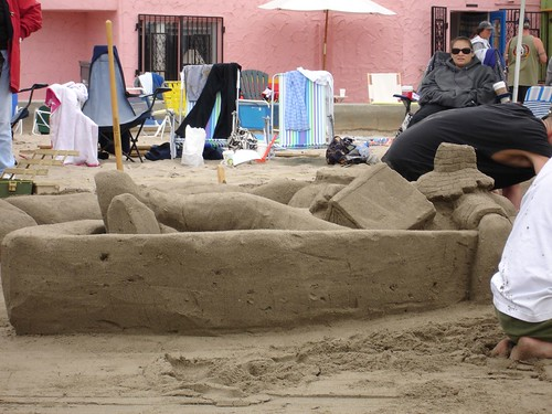 Capitola Sandcastle Contest, Willowpond Boat