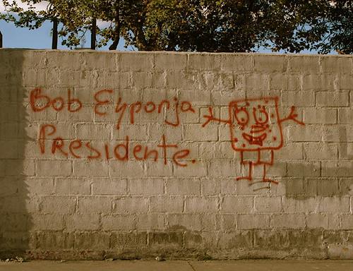 Bob Esponja Presidente