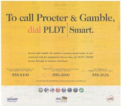 P&G and PLDT Partnership