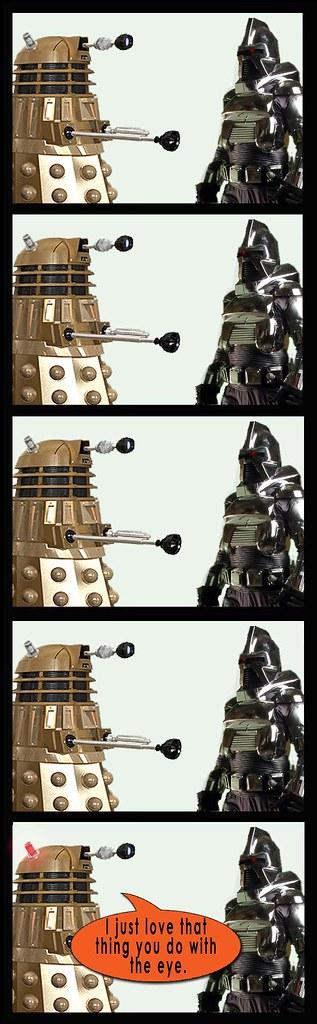 Dalek and Cylon again