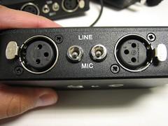 Beachtek audio mixer