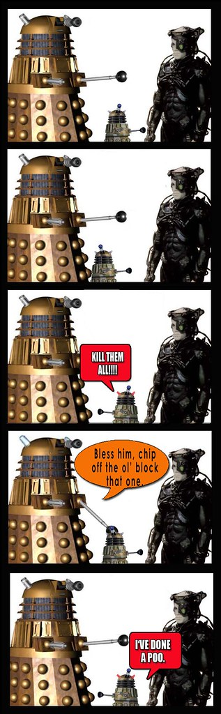 Dalek and Borg Sunday4
