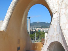 Sagrat Cor from Casa Mila