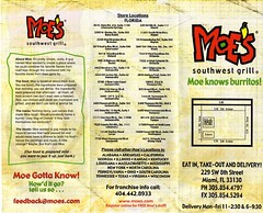 Burrito blog welcome to moe 39 s southwest grill - Moe southwest grill menu prices ...