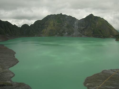 pinatubo crater lake center