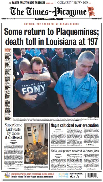 Times-Picayune 09/12/2005