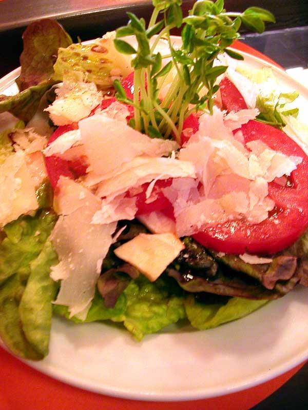 cibo insalata pacifico