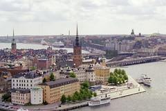 Summer di Stockholm, Sweden