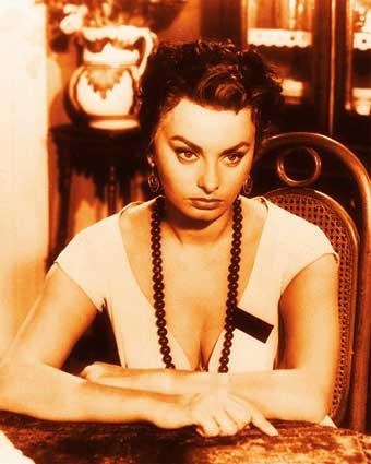 sophia loren guess. starring Sophia Loren.