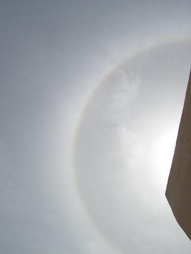 Halo around Sun
