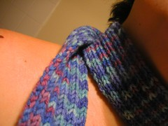 Detail of my first scarf