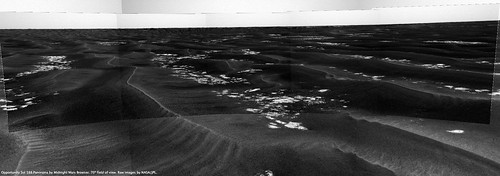 Opportunity Sol 588 - Erebus from a Distance