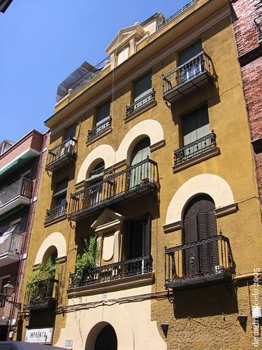 Casa curiosa en Madrid