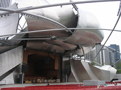 The Pritzker Pavilion, a bit closer