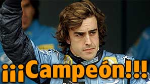 Fernando Alonso Campeon