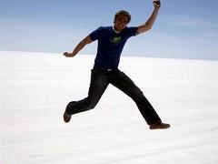 Salar Trip - 41 - Matt jump salt