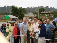 Ribbon-cutting at the Silver Lake Reservoir Pedestrian Path