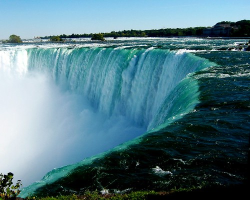 Niagara Falls Side View