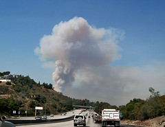 Topanga Canyon Fire