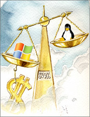 Windows versus Linux