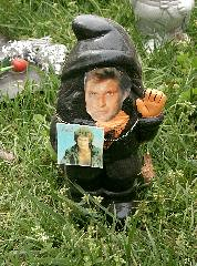 Hasselhoff gnome @ Floriade