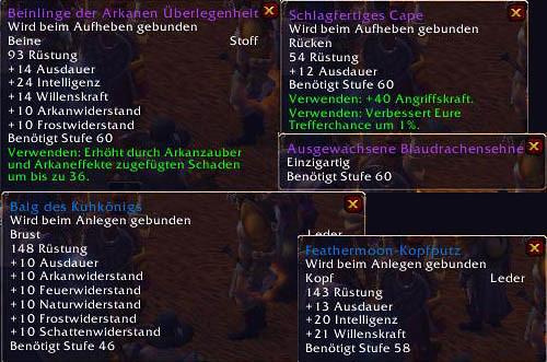 Azuregos Drops