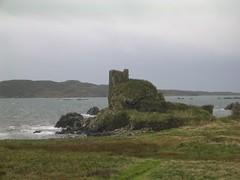 Dunivaig Castle