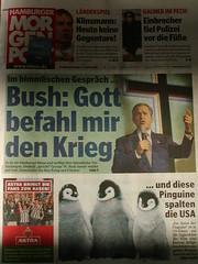MOPO : Bush : Gott befahl mir den Krieg
