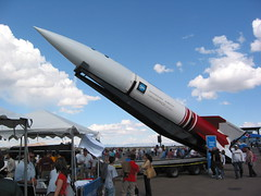 Demonstration rocket at the X-Prize Cup