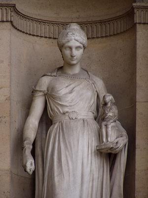 Statue de l'Archéologie
