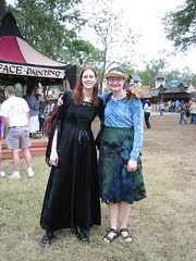 P & B at the Ren Faire