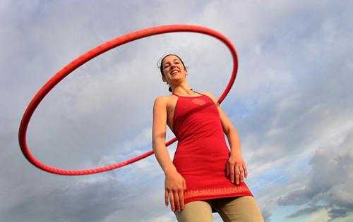 red hoop