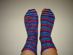 Finished Lucky Socks