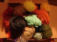 wool roving funstuff