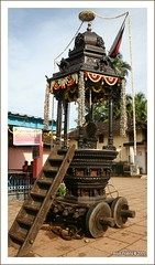 Chariot outside Kadiyali Temple