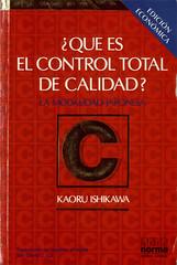 Â¿Qué Es El Control Total De Calidad? [Kaoru Ishikawa]
