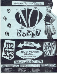 No Doubt Flyer photo by giddygirlie