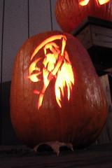Grim Reaper Pumpkin