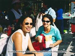 Com Rutex na feira da Vila Madalena