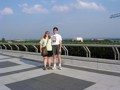 Me and Andrew on the Kennedy Center terrace